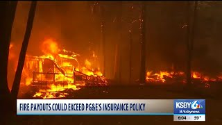 PG&E stock shares decrease more than 20 percent in trading after connectdion to Camp Fire