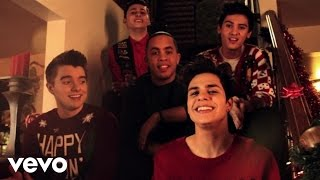 Midnight Red Merry Christmas Happy Holidays