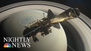 NASA's Cassini Mission Ends After 13 Years | NBC Nightly News