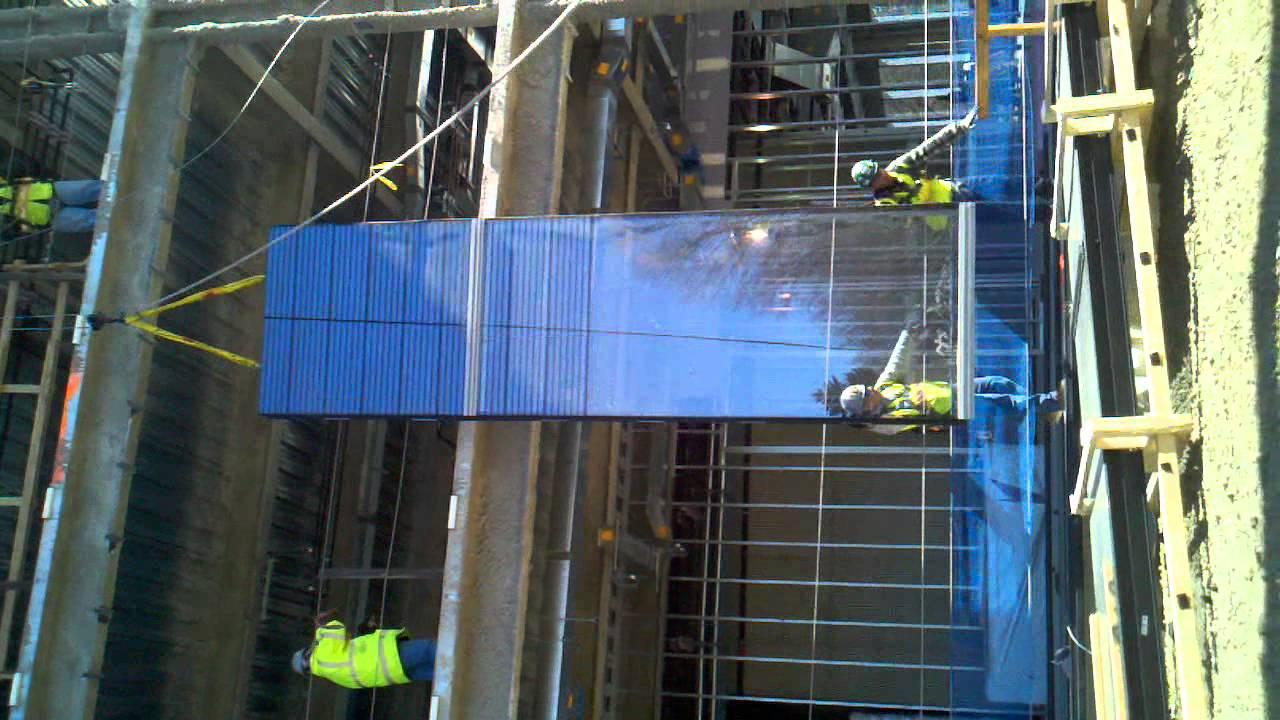 Curtain installation 2