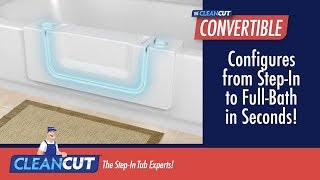 CleanCut Bathtub Insert Accessibility Conversion - Kinetic Vision