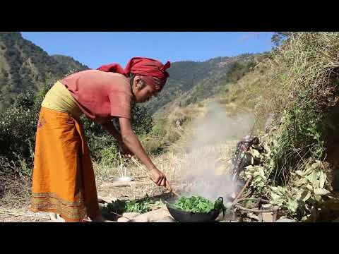 Making traditional alcohol in cold season ll Village documentary