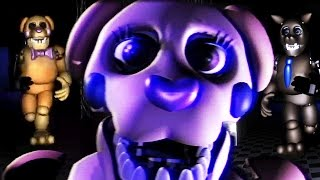 HUGE NEW TERRIFYING ANIMATRONICS || FNAF A Weekend At Daisys (FREE ROAM Five Nights at Freddys)