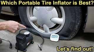Which Portable Tire Pump is Best? Let's find out!