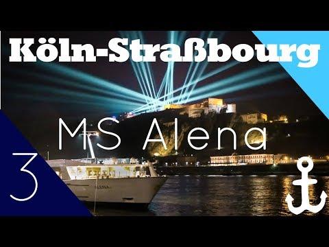 #Vlog3 MS Alena (Köln-Straßbourg) - Was für eine Lichtshow! - Phoenix Reisen