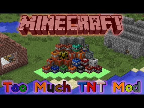 Minecraft Mod Review: Too Much TNT 1.5.2 [Deutsch/HD] Teil 1/2