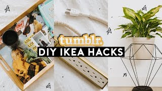 DIY IKEA HACKS - Tumblr Inspired Room Decor Ideas (2018) // Lone Fox