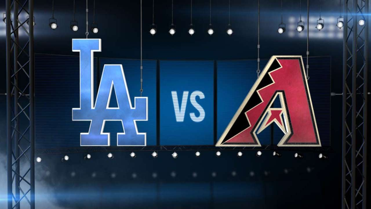 7/1/15: Anderson pitches Dodgers past D-backs