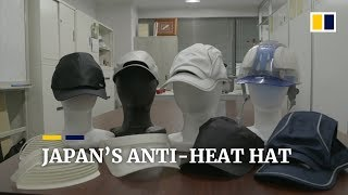 Japan's ventilated hats combat extreme heatwave