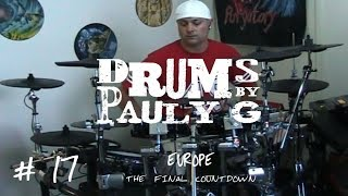 Europe - The Final Countdown (Drum cover) by Paul Gherlani