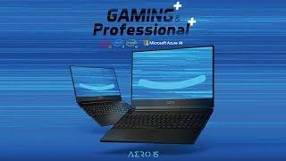 [UNBOX] AERO 15: Gaming+ & Professional+