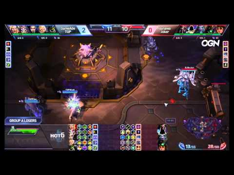 Jokers vs. TOP - Game 3 - Ro8 Group A Losers Match - Heroes of the Storm Super League 2015