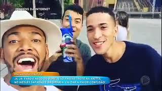 Faro visita nova casa de Nego do Borel e mostra intimidade do cantor