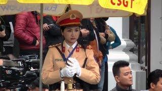 """""""Vũ khí"""" xinh đẹp Việt Nam dùng đảm bảo an ninh hội nghị Mĩ - Triều."""