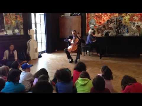 Cellist and Pianist perform at Manhattan Country School - 05/15/2014