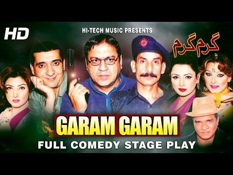 GARAM GARAM (FULL DRAMA) - IFTIKHAR TAKHUR - BEST PAKISTANI COMEDY STAGE DRAMA thumbnail