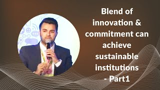 Blend of innovation   commitment can