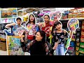 Taking kids back to school shopping *CRAZY REACTION*