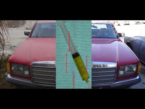 DIY Polishing & Buffing Car in 1 Step W/ Wash Refurbish Paint #throughglass