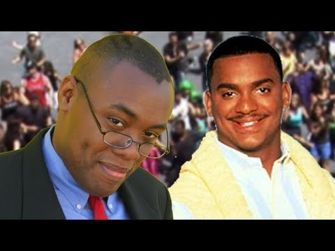 CARLTON DANCE FLASH MOB with Alfonso Ribeiro - Black Nerd Comedy