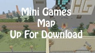 PS3 Minecraft | Mini Games Map | Up For Download