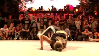 OUTBREAK EUROPE 2013 B-girl Semifinal Zofia vs Kate