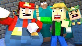 BALDI'S BASICS VS Mario - Minecraft Animation