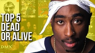 The Company Man's Top Five Greatest Rappers Of All Time