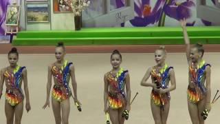 Junior Group Team Latvia,Baltic Hoop 2017,Рига,Латвия.