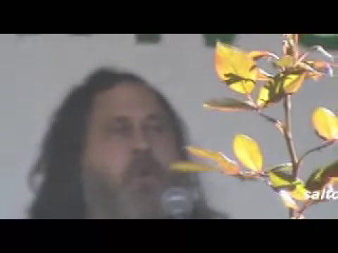 Richard Stallman en ESIME - Canción Software Libre