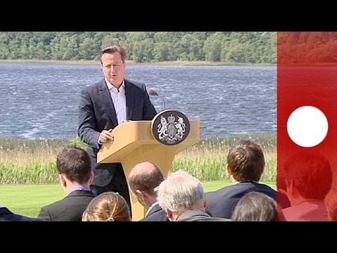 Cameron hails G8 meeting a success on multiple fronts