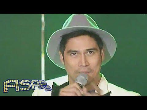 Piolo Pascual sings Mambo No. 5 on ASAP