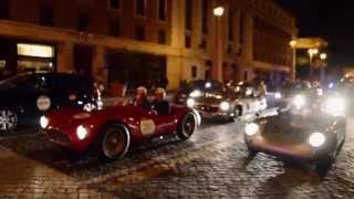 Mille Miglia 2014 - Ferrari Tribute and many old super cars!
