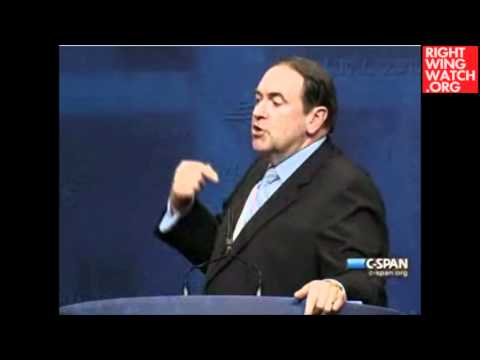 CPAC: Mike Huckabee Lectures Obama On What It Means To Be A Real Christian