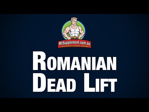 Romanian Dead Lift Technique Image 1