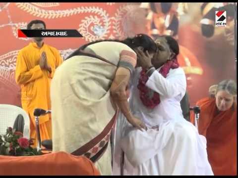 Sandesh News : Bhakti Sandesh Maa Amma in Ahmedabad Part 1