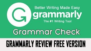 Grammarly free version Online grammar and spell checking Grammarly review and demo in Hindi