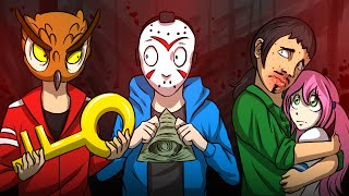 GMOD SCARY MAP ILLUMINATI PUZZLES & JUMPSCARES! - Garry's Mod Funny Moments