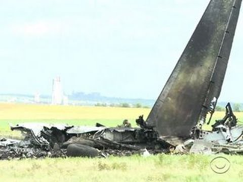 Pro-Russian militants shoot down Ukraine transport plane