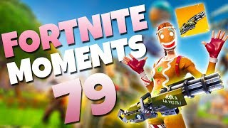 THE NEW MINIGUN IS AMAZING!! (EPIC WINS) | Fortnite Daily Funny and WTF Moments Ep. 79