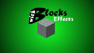 Blocks with effects! | Minecraft 1.9 Tutorial