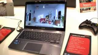 Toshiba Satellite U840 Hands On ENGLISH