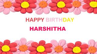 Harshitha   Birthday Postcards & Postales