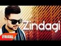 Zindagi (Lyrical Video)   Akhil   Punjabi Lyrical Videos   Speed Records
