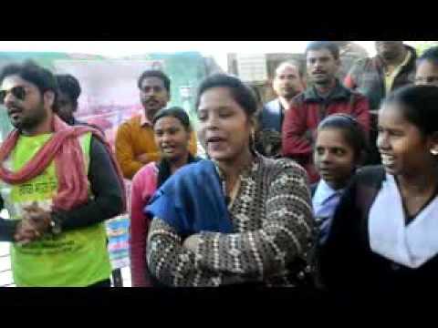 Nukkad Natak under SBM Pakhwada in Nehru Park Talpura by Jhansi Nagar Nigam & R R Collective Team