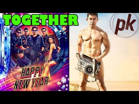Aamir Khan on releasing PK trailer with Shahrukh Khans Happy...