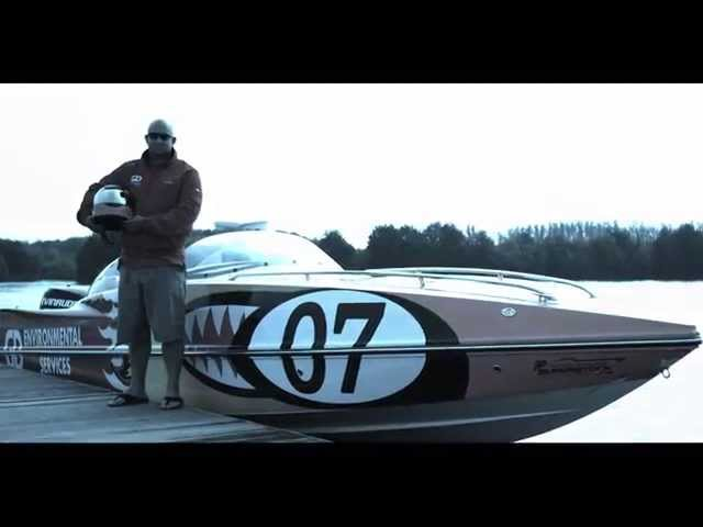 My Life in Motion: Powerboat Racer James Norvill
