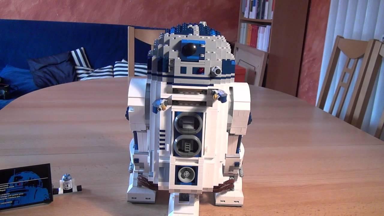 Test lego r2 d2 set 10225 star wars deutsch youtube - Lego starwars r2d2 ...