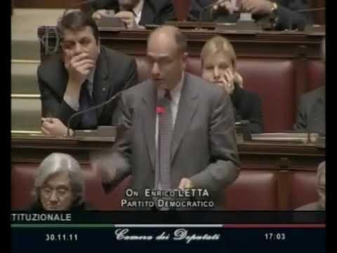 Letta - E' il momento di fare gli stati uniti d'Europa