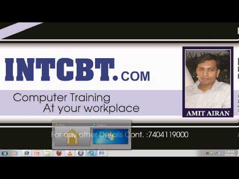 Free Learn Restricting Software Exam Code 70-680 part 2 in Hindi by INT institute